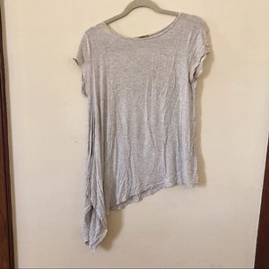 Anthropologie Asymmetrical Hem T Shirt